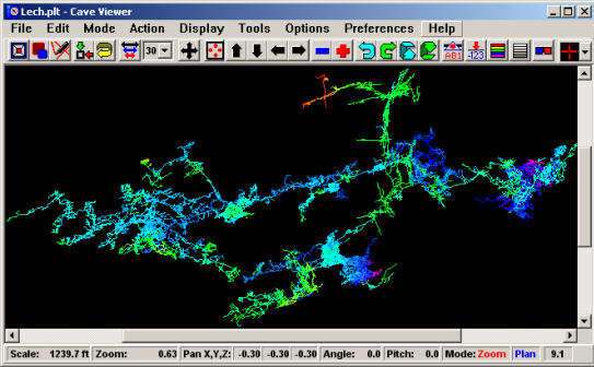 Compass Cave Survey And Mapping Software Home Page